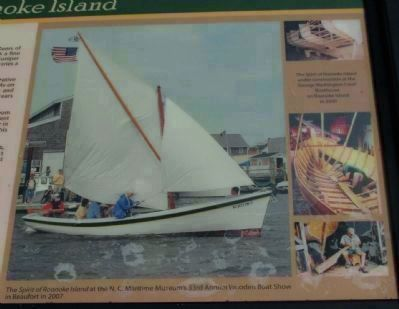 Spirit of Roanoke Island Marker image. Click for full size.