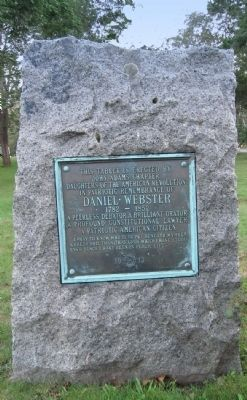 Daniel Webster Monument image. Click for full size.
