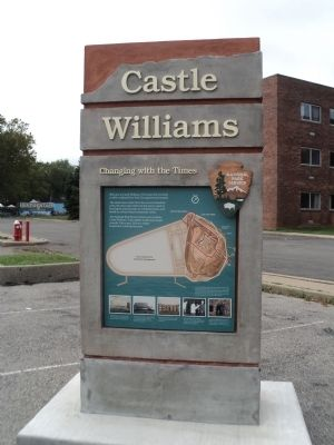 Castle Williams Marker image. Click for full size.