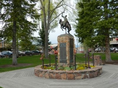 Teton County Veterans Memorial image. Click for full size.