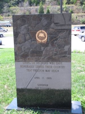 Tennessee AMVETS Memorial image. Click for full size.