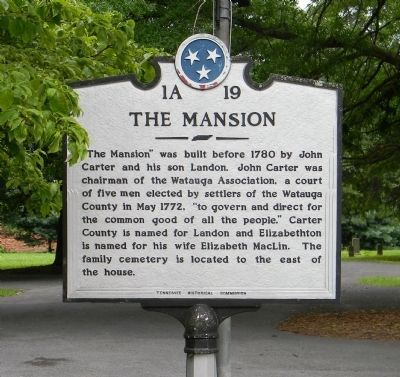 The Mansion Marker image. Click for full size.