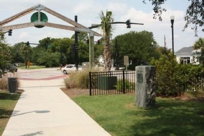 """The Kings Highway"" Marker,seen at Coleman Blvd. (S.C.703) and Simmons Street intersection image. Click for full size."