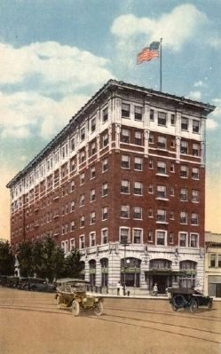 Jefferson Hotel, Columbia S.C. image. Click for full size.