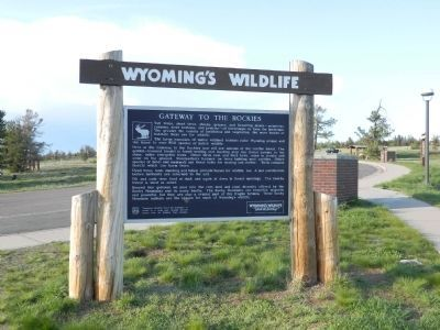 Wyoming's Wildlife image. Click for full size.