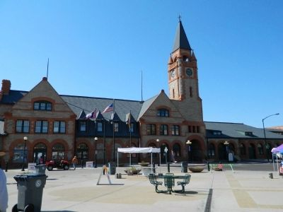 Union Pacific Depot image. Click for full size.