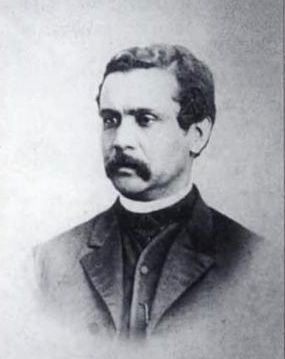 Rev. Henry Weston Cardozo<br>1830-1886 image. Click for full size.
