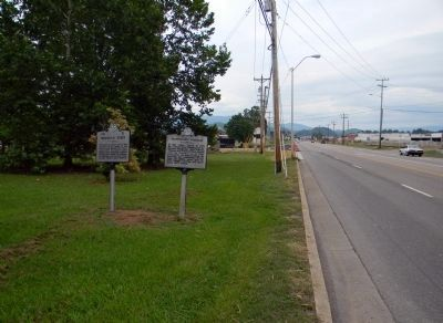 Wide view of the Transylvania Purchase Marker image. Click for full size.