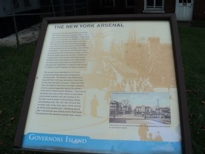 The New York Arsenal Marker image. Click for full size.