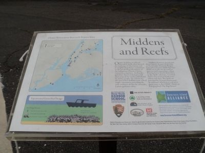 Middens and Reefs Marker image. Click for full size.
