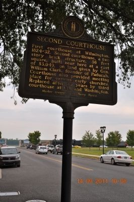 Second Courthouse Marker image. Click for full size.