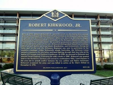Robert Kirkwood, Jr. Marker Photo, Click for full size