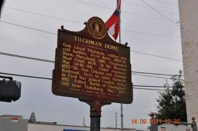 Tilghman Home Marker image. Click for full size.