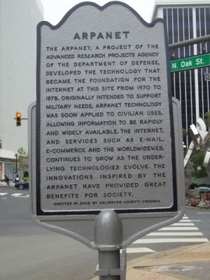 ARPANET Marker image. Click for full size.