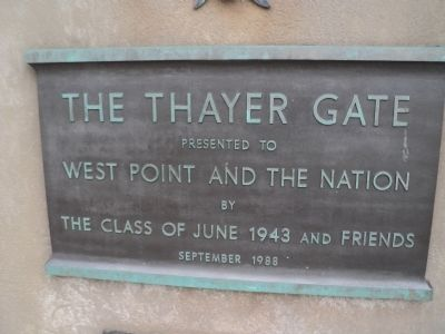 The Thayer Gate Marker image. Click for full size.