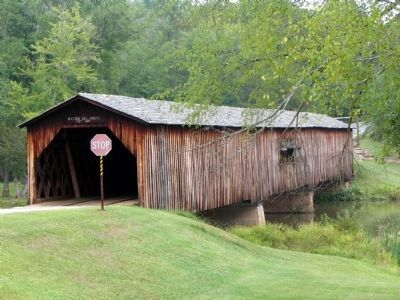 Watson Mill Covered Bridge image. Click for full size.