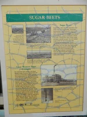 Sugar Beets Marker image. Click for full size.