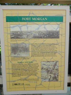 Fort Morgan Marker image. Click for full size.