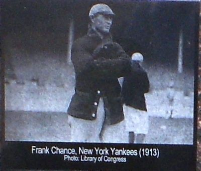 Frank Chance 1913 image. Click for full size.
