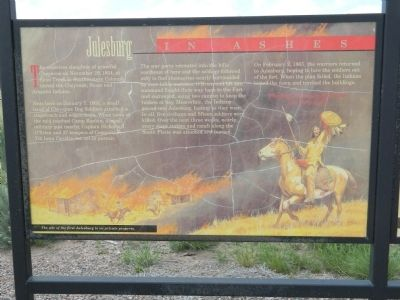 Julesburg in Ashes Marker image. Click for full size.