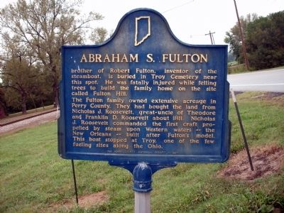 Abraham S. Fulton Marker image. Click for full size.