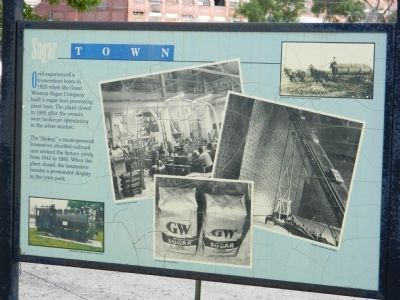 Sugar Town Marker image. Click for full size.