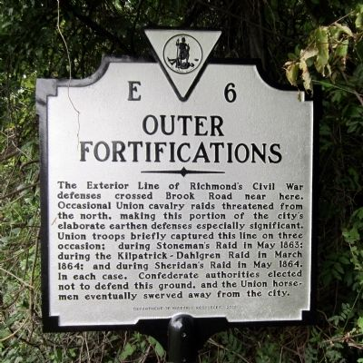 Outer Fortifications Marker image. Click for full size.