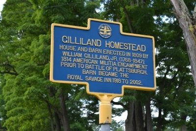 Gilliland Homestead Marker image. Click for full size.
