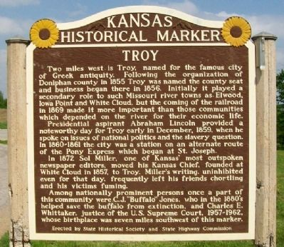 Troy Marker image. Click for full size.
