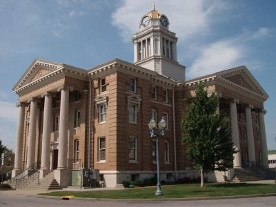 Other View - - Dubois County Courthouse image. Click for full size.