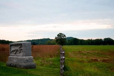 New Hampshire - Berdan's Sharpshooters Marker on left Photo, Click for full size