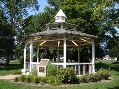The Gazebo on Addison Village Green image. Click for full size.