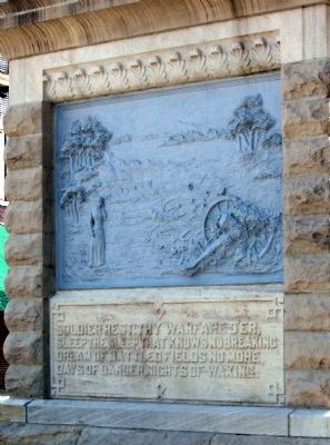 Right Panel - - Dubois County Civil War Memorial Marker image. Click for full size.