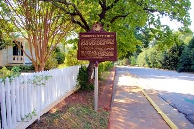 Community Development Marker image. Click for full size.
