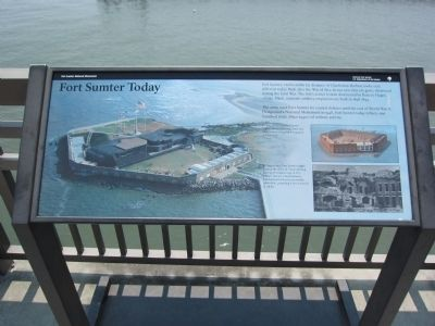 Fort Sumter Today Marker image. Click for full size.