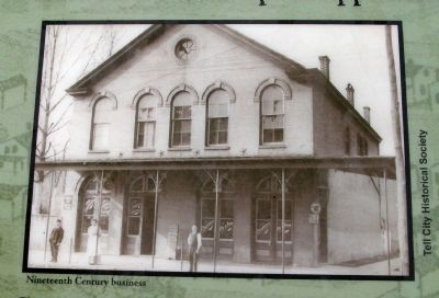"Marker Photo - - ""Nineteenth Century Business"" image. Click for full size."