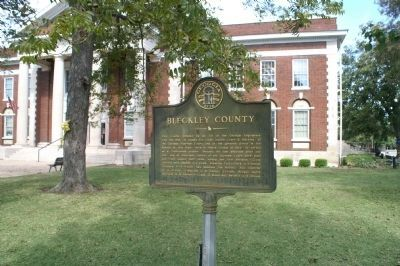 Bleckley County Marker image. Click for full size.