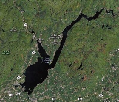 The Great Sacandaga Lake Photo, Click for full size