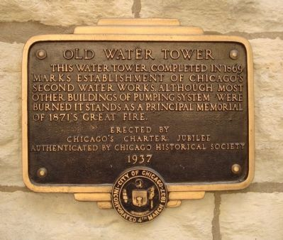 Old Water Tower Marker image. Click for full size.