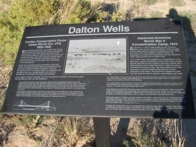 Dalton Wells Marker image. Click for full size.
