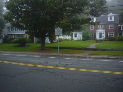 Pillow Lace Marker as seen from across High St. image. Click for full size.