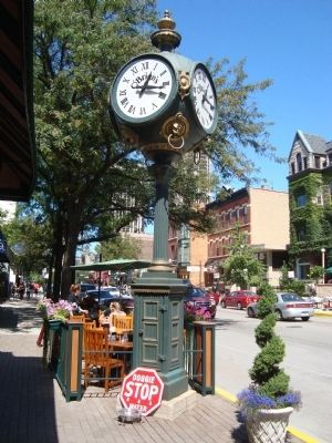 A Clock in Old Town image. Click for full size.
