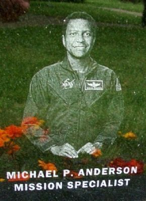 Astronaut Michael P. Anderson image. Click for full size.