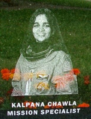 Astronaut Kalpana Chawla image. Click for full size.
