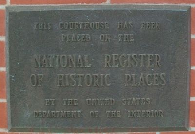 Doniphan County Courthouse NRHP Marker image. Click for full size.