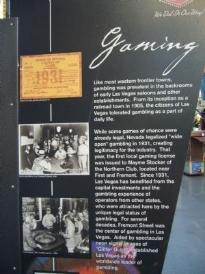 Gaming Marker image. Click for full size.