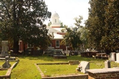 First Baptist Church and Village Cemetery image. Click for full size.