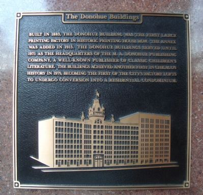 The Donohue Building Marker image. Click for full size.