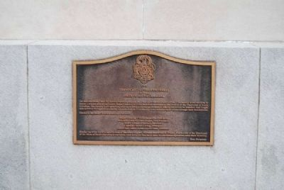 Society of the Cincinnati of the State of South Carolina Marker image. Click for full size.