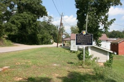 Peterman, Alabama Marker image. Click for full size.
